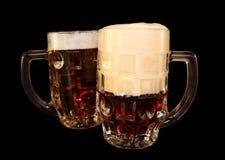 Uma caneca de cerveja Fotos de Stock