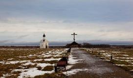Uma capela pequena Foto de Stock