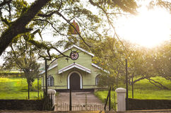Uma capela velha imagens de stock