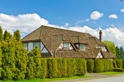 Uma casa. Foto de Stock Royalty Free