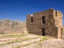 Uma casa abandonada fotografia de stock