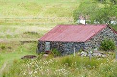 Uma casa de campo desolada Fotos de Stock Royalty Free