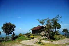 Uma casa de campo rural Imagem de Stock Royalty Free