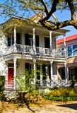 Uma casa do SC de Charleston no estilo antigo Fotos de Stock Royalty Free