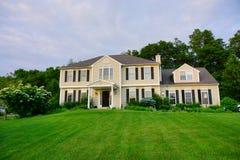 Uma casa em Guilford Fotos de Stock Royalty Free