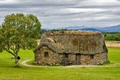 Uma casa escocesa velha fotos de stock royalty free