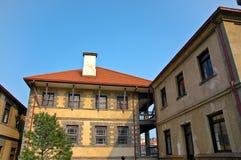 Uma casa mediterranian velha do estilo. Fotos de Stock