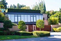Uma casa moderna imagem de stock
