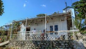 Uma casa rural em Dalat, Vietname imagem de stock royalty free