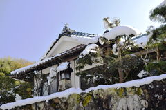 Uma casa rural típica em Japão Imagem de Stock