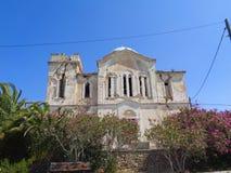 uma casa velha em algum lugar em greece imagem de stock royalty free
