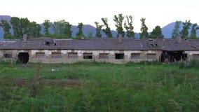 Uma caserna abandonada velha filme
