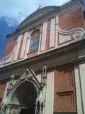 Uma catedral Fotos de Stock Royalty Free
