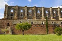 Uma catedral antiga Fotografia de Stock Royalty Free