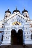 Uma catedral de Alexander Nevskiy  foto de stock