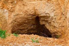 Uma caverna no monte Fotografia de Stock Royalty Free