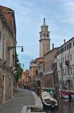 Uma cena da rua, Veneza Foto de Stock Royalty Free
