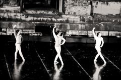 Uma cena de Romeo And Juliet Ballet foto de stock royalty free