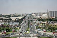 Uma cena de Tehran Imagem de Stock