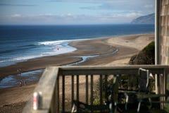Uma cena do balcão da praia Fotografia de Stock Royalty Free