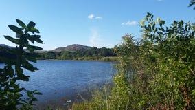 Uma cena do lago Quanah parker imagens de stock royalty free
