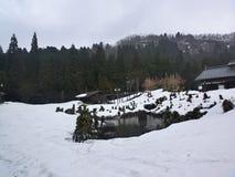 Uma cena invernal Fotografia de Stock Royalty Free