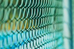 Uma cerca com profundidade Fotografia de Stock Royalty Free