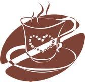 Uma chávena de café Foto de Stock Royalty Free