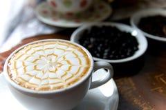 Uma chávena de café Fotos de Stock Royalty Free