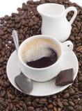 Uma chávena de café Imagem de Stock Royalty Free