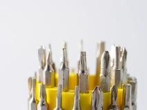 Uma chave de fenda é uma ferramenta Imagem de Stock Royalty Free