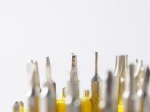 Uma chave de fenda é uma ferramenta Imagens de Stock