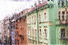 Uma chuva. Fotos de Stock