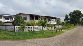 Uma cidade agradável no Suriname Imagens de Stock Royalty Free