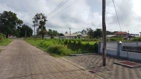 Uma cidade agradável no Suriname Fotos de Stock