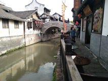Uma cidade antiga Imagem de Stock Royalty Free