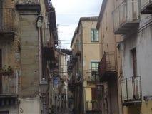 Uma cidade pequena italiana Foto de Stock Royalty Free