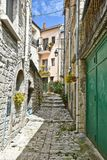 Uma cidade velha de Oratino em Itália fotografia de stock royalty free