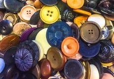 Uma coleção de uma variedade de botões diferentes Fotos de Stock Royalty Free