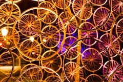 Uma coleção do colorfull das rodas Imagens de Stock