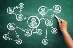 Uma comunicação é a chave ao sucesso fotos de stock royalty free