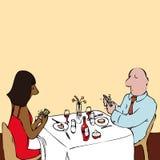 Uma comunicação Fotografia de Stock Royalty Free