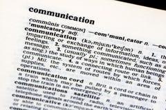 Uma comunicação Fotos de Stock
