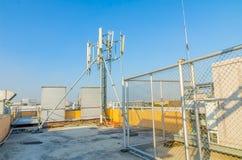 Uma comunicação da antena Imagens de Stock Royalty Free