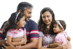 Uma comunicação da família Foto de Stock Royalty Free
