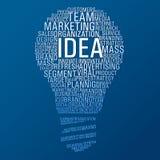 Uma comunicação da ideia do mercado Foto de Stock Royalty Free