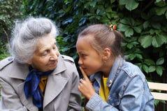 Uma comunicação das gerações 4 Fotografia de Stock Royalty Free
