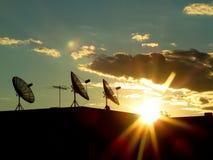 Uma comunicação de Sunstar Foto de Stock