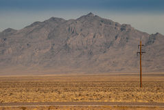 Uma comunicação do deserto Imagens de Stock