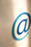 Uma comunicação do email - @ Imagem de Stock Royalty Free